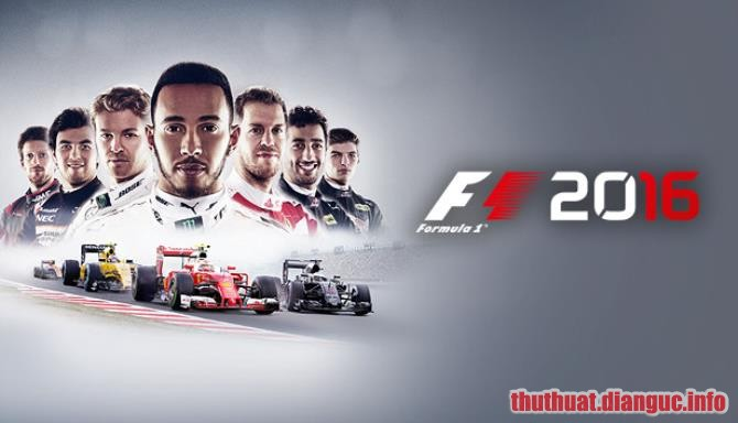 Download Game Đua Xe F1 2016 Full Crack