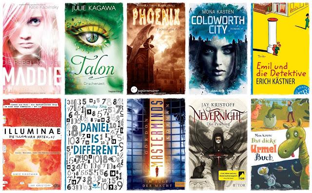 [Top Ten Thursday #49] Autoren mit gleichen Initialen