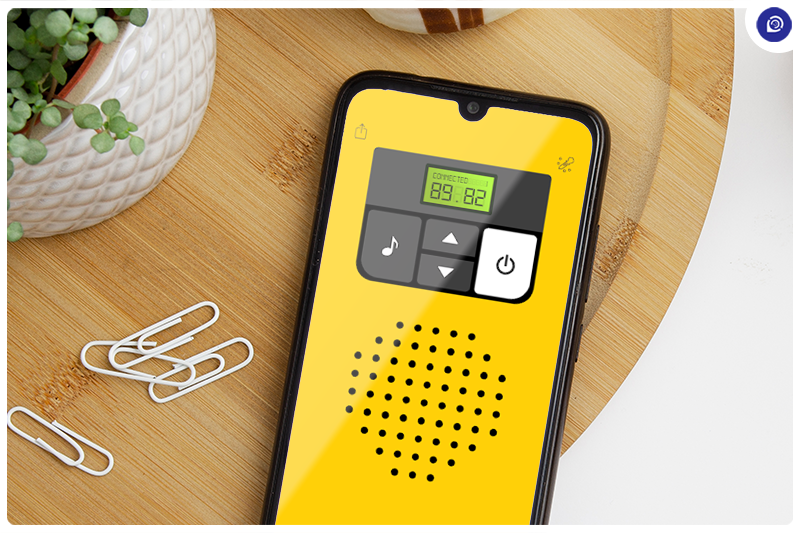 This App Makes Walkie-Talkie Communication Easy.