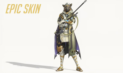 Overwatch, Ana's Bastet, Event Rewards, epic skin