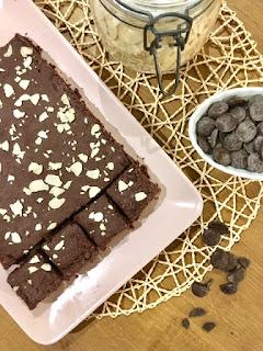 image brownie végétarien