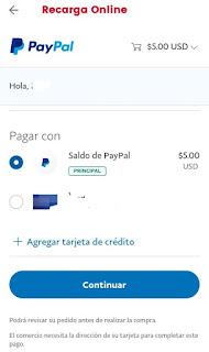 activar paquete digicel con paypal