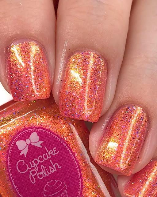 Cupcake Polish Shimmering Sunburst 25 Sweetpeas