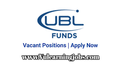 UBL Funds Manager Jobs 2020