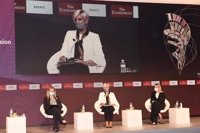 Η Σόνια Τάνταρου Κρίγγου ομιλήτρια στο συνέδριο του Economist!