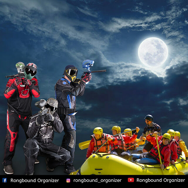 Outbound,Gathering,Camping,Rafting,Paintball