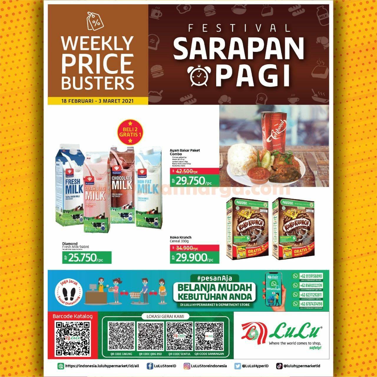 Katalog Promo LULU Supermarket 18 Februari - 3 Maret 2021 1