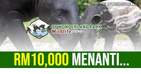 Ganjaran Sebanyak RM10,000 Menanti Kepada Siapa Berjaya Namakan Anak Tapir
