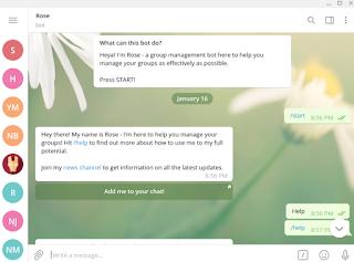 Telegram dektop on linux