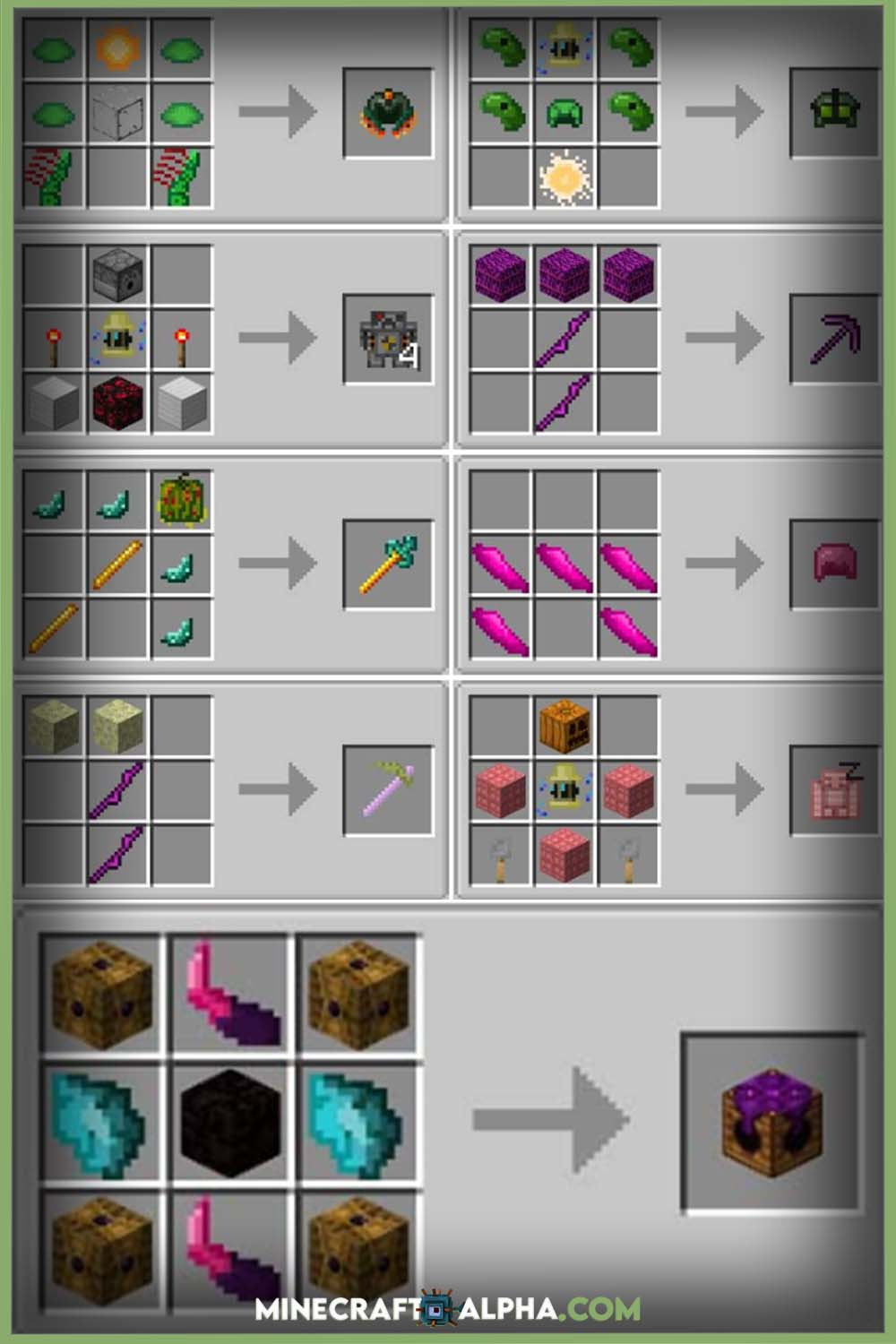 Exotic Critters Mod Crafting Guides