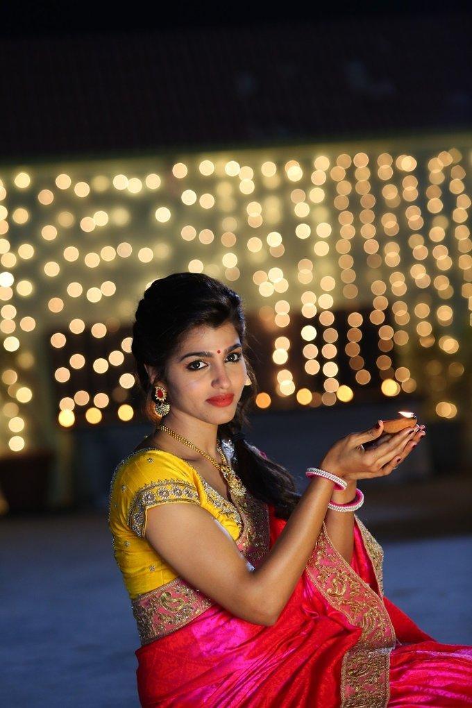 Telugu Actress Dhansika Photos from Vaalujada Movie