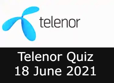 Telenor Quiz Answers 18 June