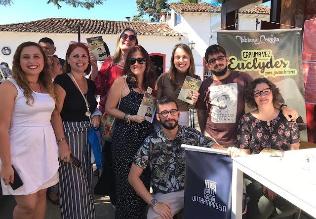 Escritora cantagalense lança livro sobre Euclydes da Cunha na FLIP 2019
