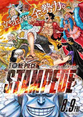 "Versi poster Dari Film ""ONE PIECE STAMPEDE"" Digambar Oleh Eiichiro Oda"
