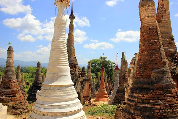 Pagoda Shwe Indein (Shwe Inn)
