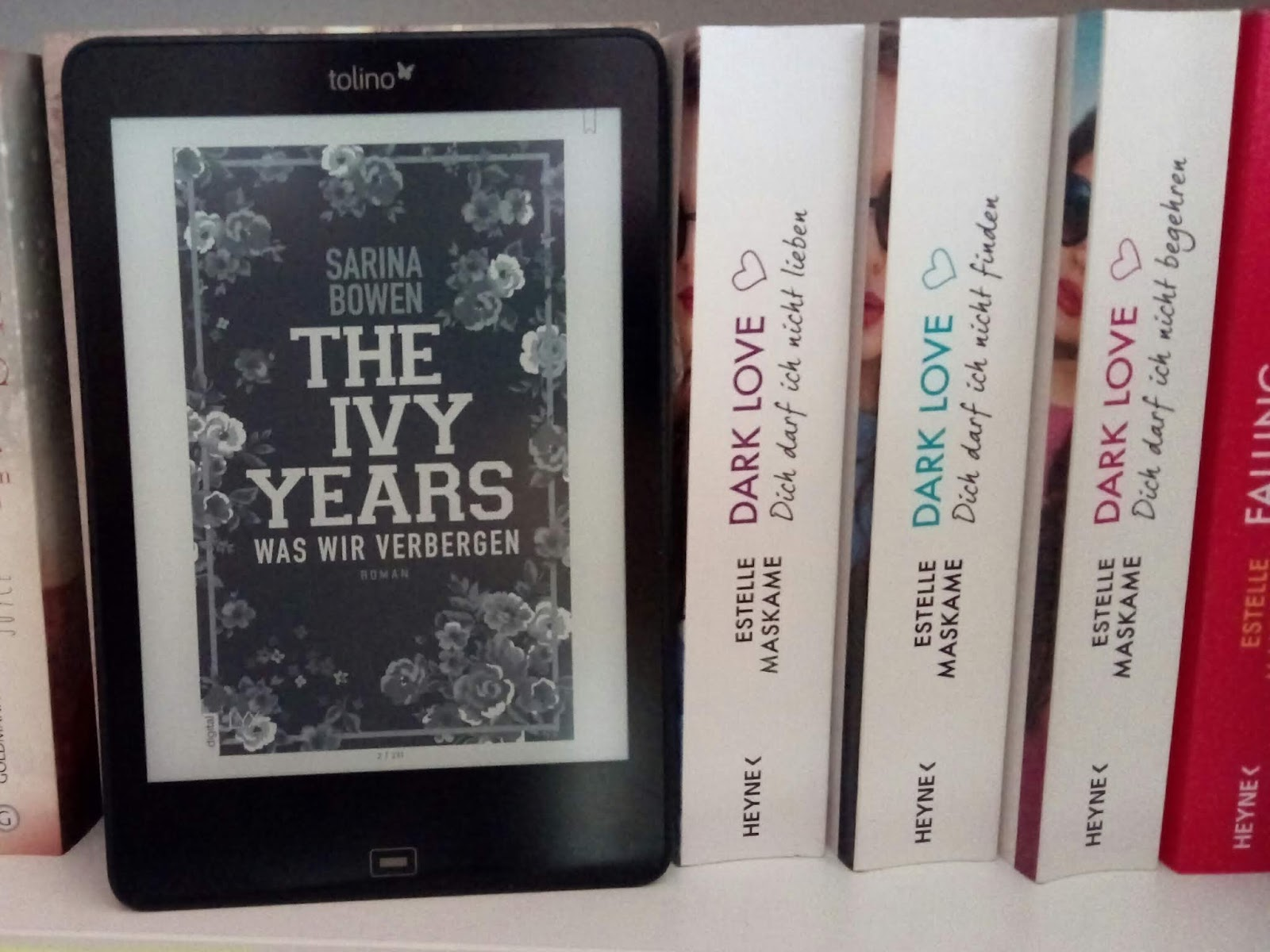 {Rezension} The Ivy Years - Was wir verbergen | Sarina Bowen | WERBUNG