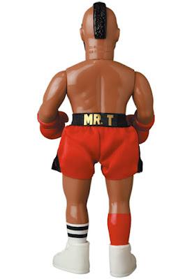 WWE Mr. T WrestleMania 2 Edition Sofubi Vinyl Figure by Medicom Toy