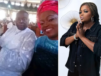 """Your children will neglect you also""- Funke Akindele comes under fire for ignoring Dad's burial as Nigerians reacts"