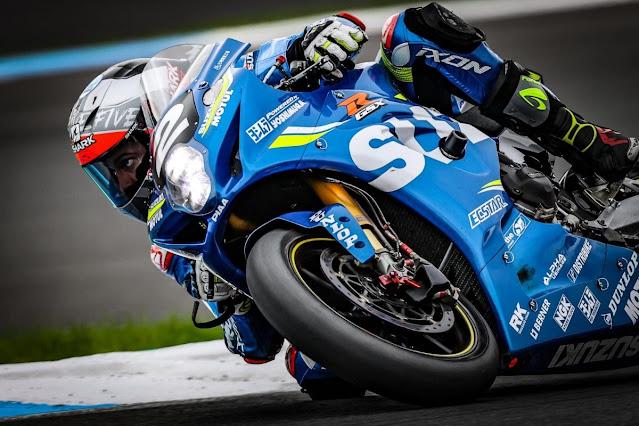 Suzuki juara balap enduro