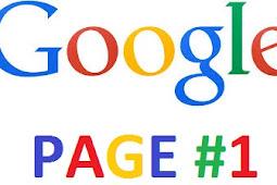 Script Agar Blog Muncul di Halaman Satu google