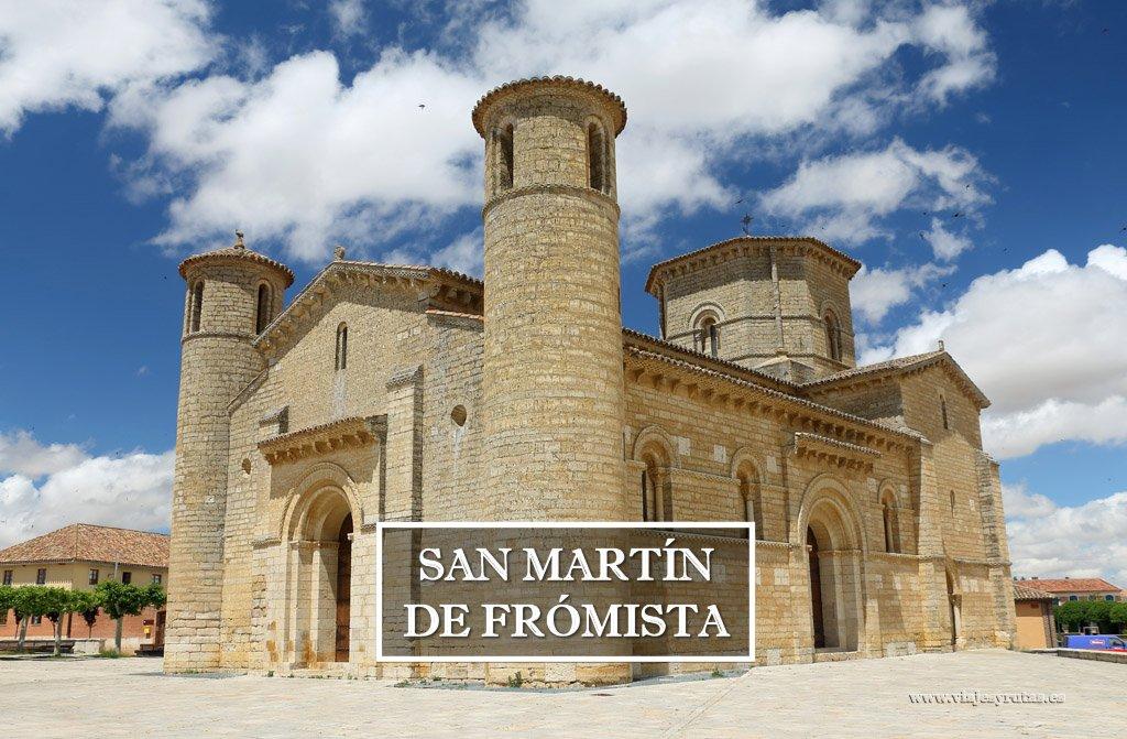 Iglesia de San Martín de Frómista, referente del románico