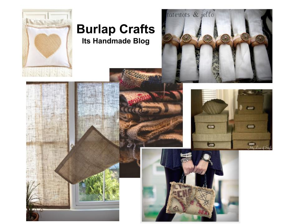 Easy and Beautiful Crafts and Decor DIY Using Burlap