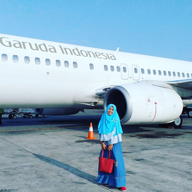 My First Flight At Garuda Indonesia