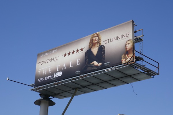 The Tale movie billboard