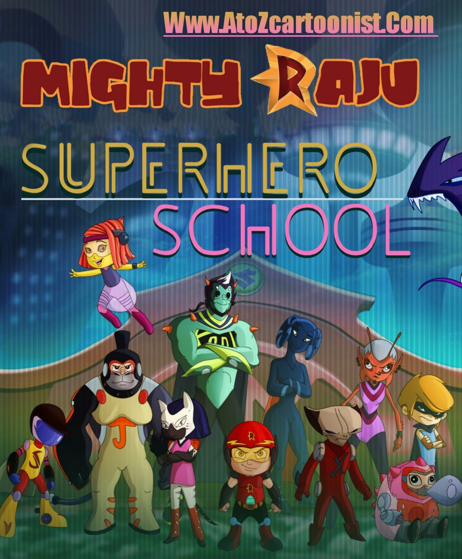 MIGHTY RAJU : SUPERHERO SCHOOL FULL MOVIE IN HINDI DOWNLOAD (720P HD & 1080P FHD)