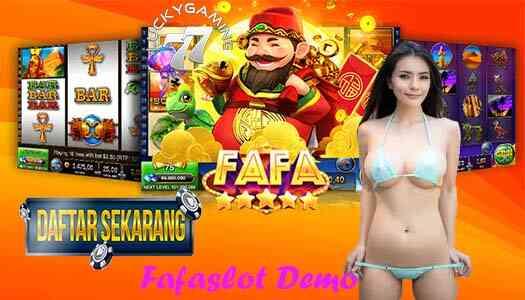 Fafaslot Demo Situs Terpercaya dan Termurah Di Indonesia