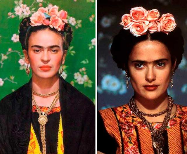 Frida Kahlo foto real e filme