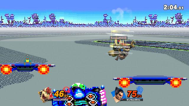 Super Smash Bros. Ultimate Bowser Flying Slams Kazuya