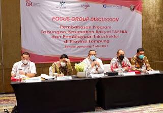 OJK Siap Dukung Program Tabungan Perumahan Rakyat (TAPERA) di Provinsi Lampung