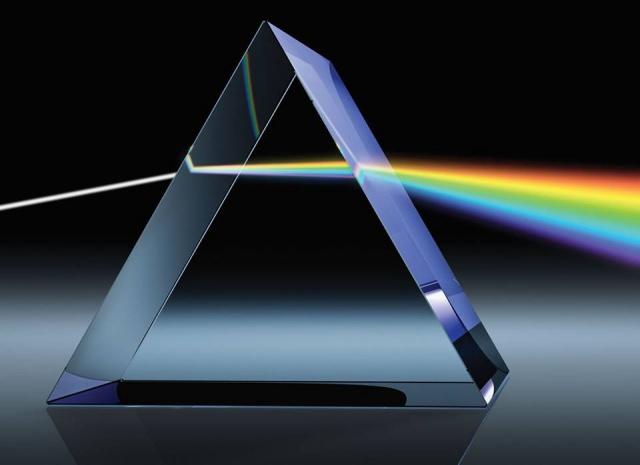 Prisma merupakan sebuah segitiga dengan 3D