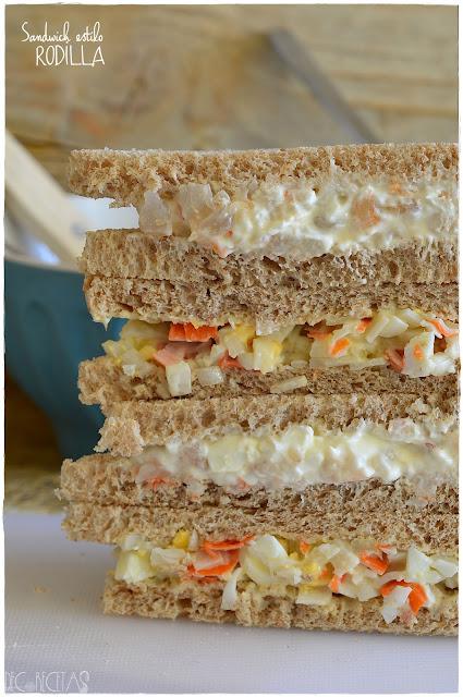 Sandwich estilo Rodilla