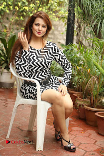 Actress Saloni Latest Pos in Short Dress  0297.JPG