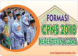 Formasi Lengkap CPNS 2018 Kementerian Agama