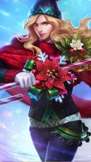 Lancelot Christmas Carnival Heroes Assassin of Skins V2