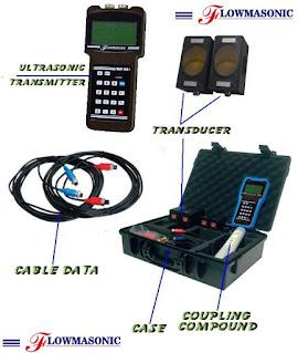 Flowmasonic WUF100J Ultrasonic Portable Flow Meter
