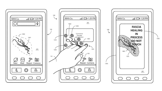 Motorola Patented Screen