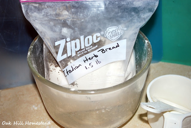 DIY bread machine mixes.