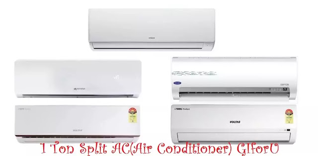 best-split-ac-in-india-1 Ton Split AC-Split AC-Air Conditioner-GIforU