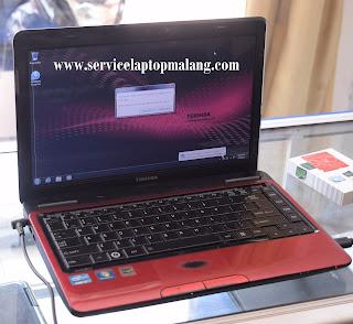 Jasa Cleaning Ganti Pasta Laptop Toshiba Satellite L730 L735 L740 L740D L745 L630 L635 di Malang