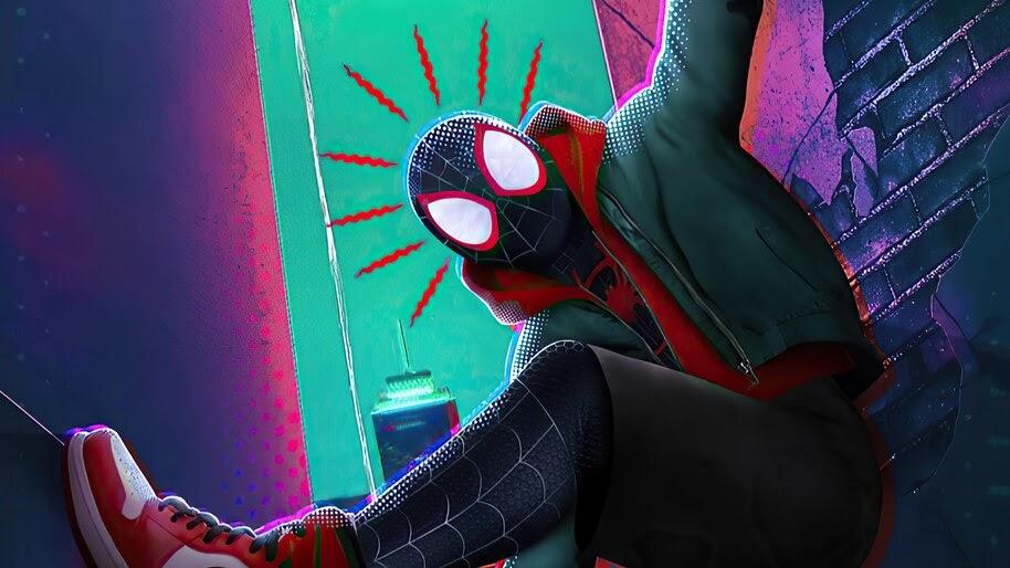 Miles Morales, Spider-Sense, Spide-Man, Into The Spider Verse, 4K, #6.2419