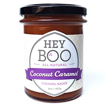 Jar of Hey Boo Coconut Caramel