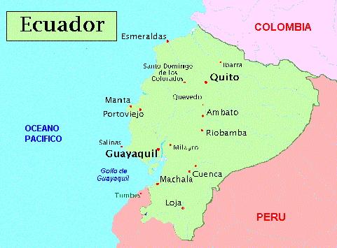 Patria y unidad un poco de geografa mapa de ecuador mapa de ecuador gumiabroncs Images