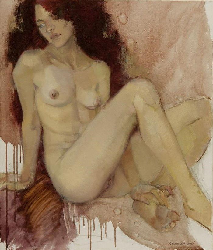 Между медитацией и эмоциями. Lena Lafaki