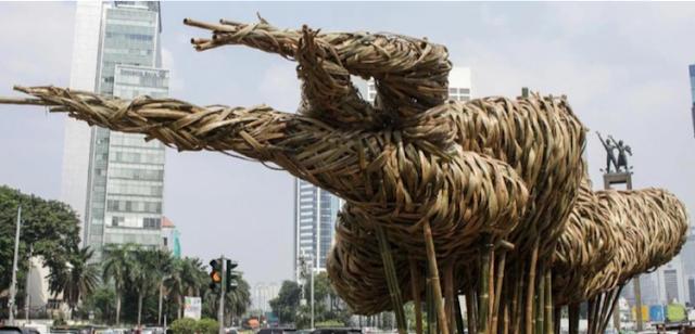 Patung Bambu