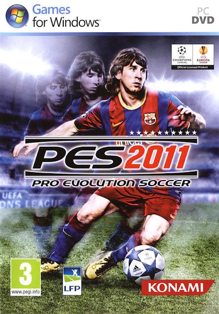 تحميل لعبة بيس 2011 مجانا PES 2011 Pro Evolution Soccer