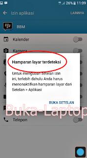 Memperbaiki Hamparan Layar Terdeteksi Di Android Marshmallow Screen Overlay Detected
